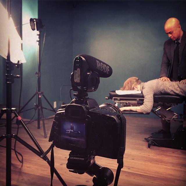 KOBA presents: Behind the scenes on production day @drtituschiu #KOBA #chiropractic #neurology #nutrition #Berkeley