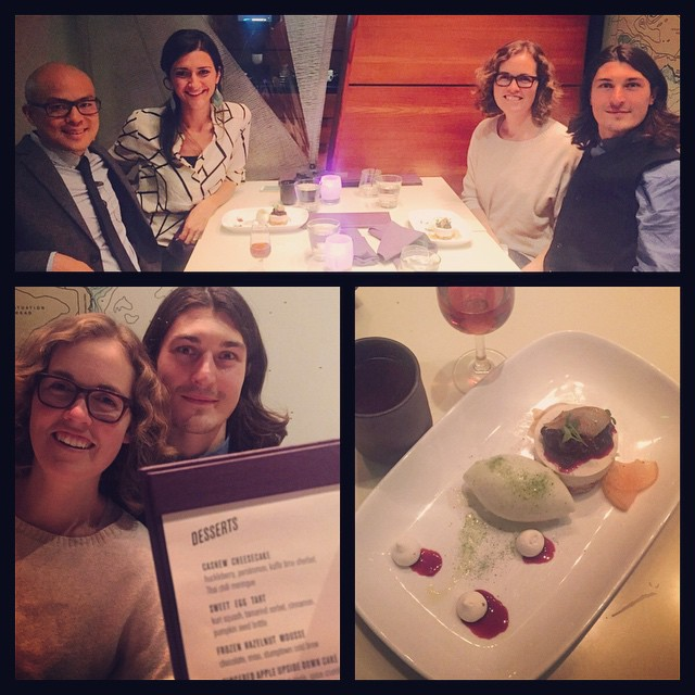 KOBA presents: Departure PDX connecting with Noah and Mickey Trescott of The Autoimmune Paleo Cookbook! All dessert were gluten and dairy free - don't miss the Cashew Cheesecake!  #KOBA #chiropractic #neurology #nutrition #berkeley #ontheroad #portland #departurepdx #aip #autoimmunepaleo #glutenfree #dairyfree #paleo #TeamGG #mickeytrescott #YUMMIES @mickeytrescott @fermatawoodworks @departurepdx @autoimmunepaleo #NatashaandTitus
