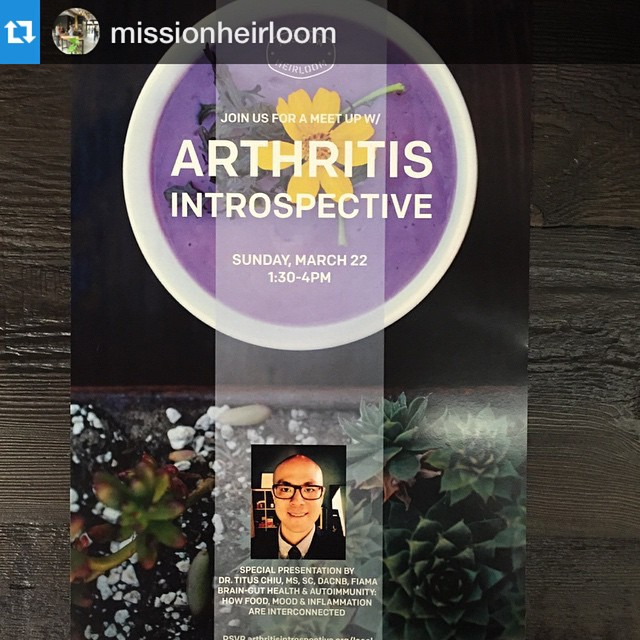 KOBA presents: Dr. Titus Chiu at Mission Heirloom Garden Bistro talking Brain-Gut Health #Repost @missionheirloom