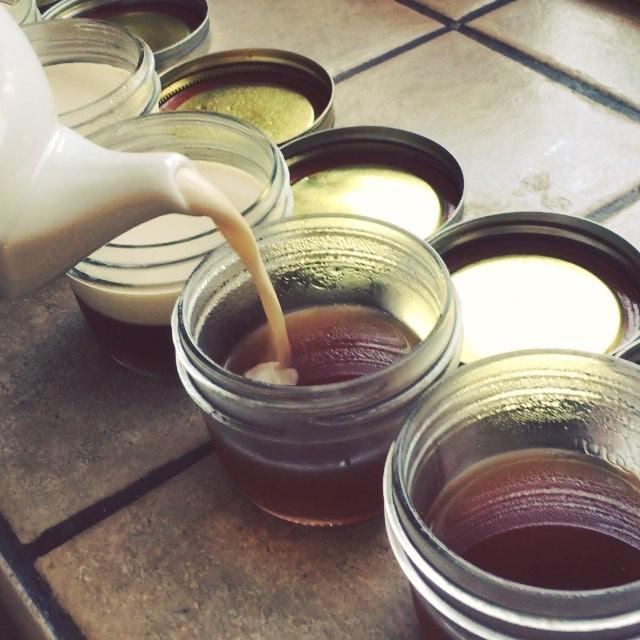 Coconut Vanilla Chai Latte Gelatina, Part 2! Recipe at KOBAfood.com #KOBA #chiropractic #neurology #nutrition #Berkeley #holistichealth #wellness #lifestyle #ketosis #ketogenic #diet #grassfed #beef #gelatin #chailatte #coconutmilk #vanilla #paleo #aip #grainfree #dairyfree #glutenfree #lowcarb #hifat #KOBAketo #vitamix #KOBAfood