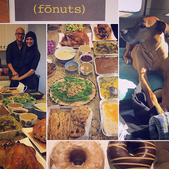 Any road trip to LA would not be complete without a Persian feast and a stop at Fonuts. So grateful for our lovely family and friends! #KOBAchiropractic #Berkeley #California #LosAngeles #neurology #nutrition #chiropractic #functionalmedicine #homeopathy #bioenergeticmedicine #rhodesianridgeback #rr #roadtrip #persian #persianfood #saffron #paleo #glutenfree #dairyfree #healingfoods #fonuts #gratitude #family #wellness #DrTitusChiu #DrNatashaFallahi