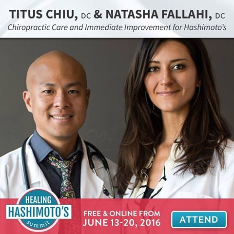 @drnatashaf and I are so honored and excited to have been invited to speak at this international online health summit! Join us and other thyroid experts as we share and explore the cutting-edge in natural thyroid care. Sign up today! Live link in profile. #KOBA #chiropractic #neurology #nutrition #Berkeley #paleo #aip #thyroid #thyroidhealth #event #hashimotos #autoimmune #autoimmunethyroid #brainhealth #guthealth #conversation #webinar #holistichealth #glutenfree #dairyfree #grainfree #DrTitusChiu #DrNatashaF #DrNatashaFallahi #TheMetabolicAdjustment