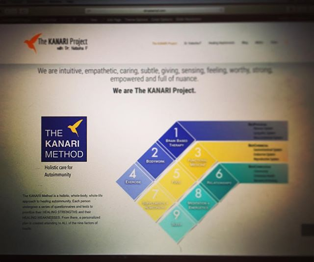 Beta launched the website for one of my projects this morning! Check her out and help me out with feedback! Live link in profile!  #KANARIproject #design #webdesign #introvert #ladyboss #entrepreneur #aip #autoimmune #autoimmuneprotocol #paleo #glutenfree #dairyfree #hashimotos #naturalhealth #naturalmedicine #functionalmedicine #wellness #chiropractic #nutrition #neurology #functionalneurology #homeopathy #DrNatashaFallahi #DrNatashaF