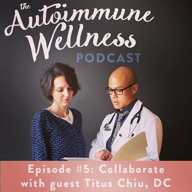 Super excited for the NEW EPISODE of the Autoimmune Wellness Podcast. I'll be interviewed by the amazing AIP crusaders @mickeytrescott and @angie.alt. Check out the live link in profile on Thursday, September 8th to listen in! #chiropractic #neurology #nutrition #drtituschiu #drnatashaf #kanariproject #hashimotos #paleo #autoimmune #glutenfree #dairyfree #awpodcast #awp #podcast #podcasters #autoimmunewellnesshandbook #autoimmunepaleo #aip