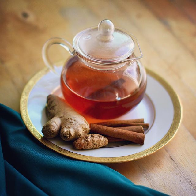 For those of you looking for my Persian spiced tea recipe that @itsme.charlotte is referring to, here it is! I recently tried a variation by adding fennel stalk/fronds to the mix and it was so sweet and delicious! So happy to see you making it Char! ️ • • • Another one of mom's healing recipes with no measurements. PERSIAN SPICED GINGER TEA •Fresh ginger •Fresh turmeric •Cinnamon stick •Fennel stalk and/or fronds •Secret ingredient: Persian saffron •Filtered water Chop ginger, turmeric and fennel into discs. Add all ingredients to huge pot or slow cooker. Simmer away, the longer the better. In fact, keep a warm pot always simmering and just add more water as you drink each cup throughout the day.️ This tea is unbelievably soothing. The ginger adds a spicy kick that's great for digestion. The turmeric is anti-inflammatory. And the cinnamon and fennel are legit replacements for sugar. Persian saffron is just magic. It's the only tri-doshically balanced spice in all of Ayurveda. Did you know there are 3 ways of making turmeric more bio-available? 1️⃣Heat it up ️(In teas or foods) 2️⃣Make it fatty ️(Add to cooking oil before sautéing anything!) 3️⃣Take with black pepper️(Pepper is a no-no for AIP, so don't try this at home) What's your favorite AIP spice or herb? Sweet tea dreams! xoxo Dr. Natasha #natashaaip #aip #autoimmune #autoimmunepaleo #autoimmuneprotocol #paleo #guthealth #brainhealth #persian #persianfood #persianpride #tea #turmeric #saffron #healing #ayurveda #foodstagram #glutenfree #dairyfree #hashimotos #chiropractic #nutrition #functionalmedicine #functionalneurology #homeopathy #KANARIproject #theKANARIproject #helloKOBA #DrNatashaFallahi #DrNatashaF
