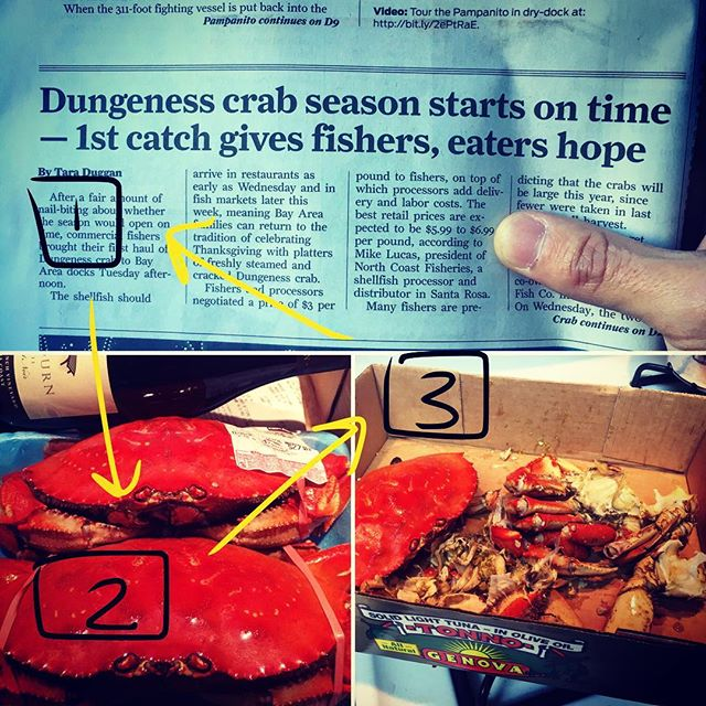 How to Eat Crab in 3 Easy Steps. Step 1: HOPE Step 2: HUNT Step 3: FEAST REPEAT  #foodasmedicine #oceantotable #iloveseafood #crabseason #crabbutter #tomalley #cholesterol  #fat #butterofthesea #gutbrainaxis #fat #mitochondria #polyphenols #nrf2 #pinotnoir #resveratrol #brainhealth #functionalneurology #functionalmedicine #neurology #nutrition #drtituschiu #themodernbrain