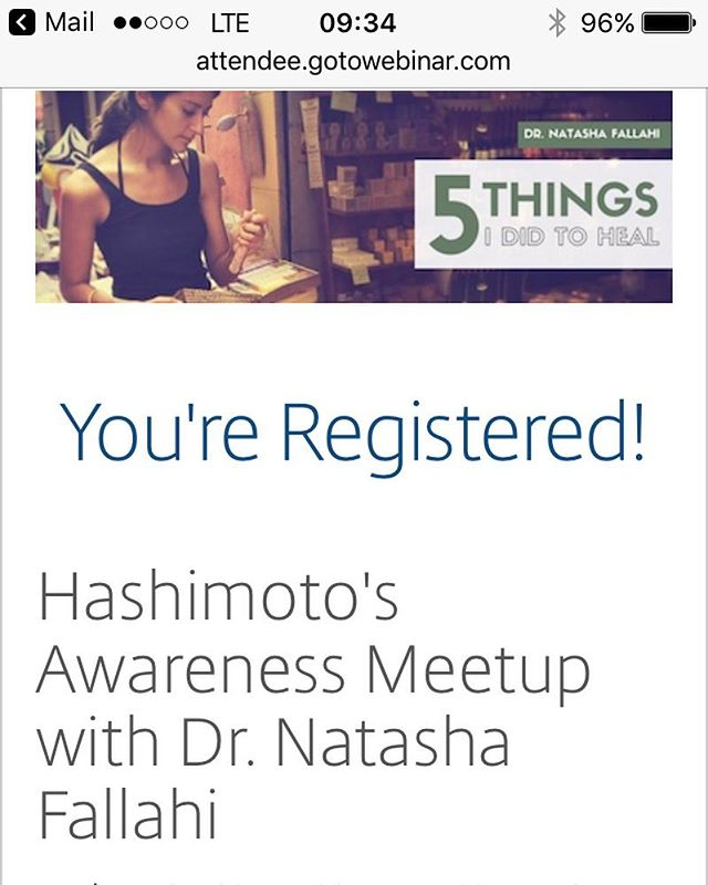 Have you signed up for @drnatashaf webinar yet? She's gonna be sharing her super inspiring story of how she healed from Hashimtos. It's  today, Wednesday January 25th at 4:00 pm PST. Click the live link in profile to sign up and join in on the fun!  #KANARI #KANARILife #theKANARILife #KOBA #KOBAfamilywellness #healer #helper #aip #autoimmune #autoimmuneprotocol #hashimotos #naturalmedicine #wellness #chiropractic #nutrition #homeopathy #DrNatashaFallahi #DrNatashaF #DrTitusChiu