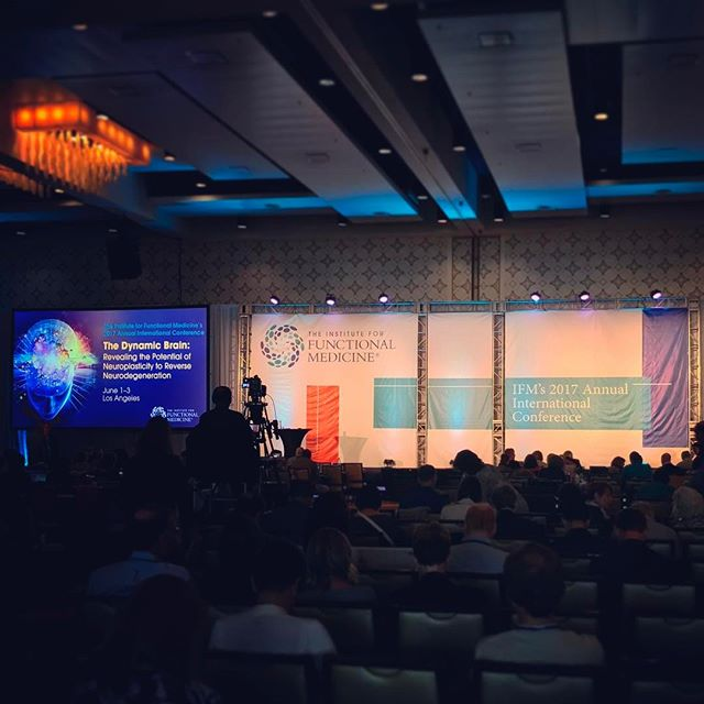 Attention Fellow Nerds! IFM 2017: THE DYNAMIC BRAIN! IFM 2018: AUTOIMMUNITY!!!!!!!!!!  We just got this year's conference started and Dr. Hyman just announced that next year's conference will be Rethinking Autoimmunity: Advancing the Treatment Paradigm for Autoimmune Disease. I'm already there. @drtituschiu and I are geeking out. . #rethinkingautoimmunity #aip #autoimmune #paleo #guthealth #brainhealth #gfdf #glutenfree #dairyfree #hashimotos #chiropractic #nutrition #functionalmedicine #functionalneurology #homeopathy #KANARIlife #theKANARIlife #helloKOBA #travel #DrNatashaFallahi #DrNatashaF #DrTitusChiu #TheModernBrain #Sensorigenomics #AIC2017 #AIC2018