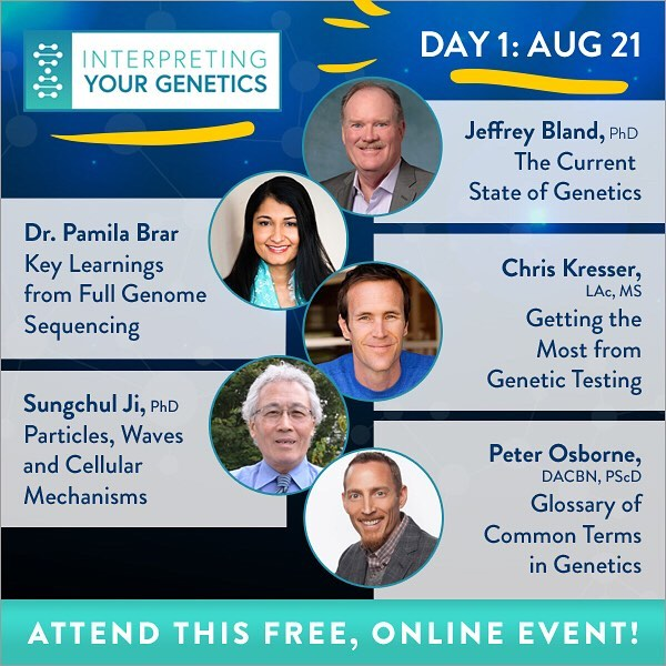 Yes!! The Interpreting Your Genetics hosted by @mrjamesmaskell starts today!! DAY 1 talks include leading experts in the field of nutritional and Functional Medicine- Dr. Jeffrey Bland,  Chris Kresser and @drosborne. So excited and honored to be a part of this game-changing summit. My talk airs tomorrow so be sure to register for FREE online today. Live link in profile🏾🏾🏾 . . . #GeneSummit #Genetics #Epigenetics #neuroepigenetics #23andMe #genetictesting #changeyourlife #EvolutionofMedicine #evolutionofneurology #functionalmedicine #functionalneurology #TheModernBrain #Sensorigenomics #Sensorigenomic #Sensorigenomictherapy #gutbrainconnection #neurologymatters #brainhealth #KOBA #DrTitusChiu #DrNatashaFallahi @mrjamesmaskell @davidperlmutter @andreanakayama @drkarafitzgerald @drchatterjee @thepaleomom @markhymanmd @sayergmi @donnamgates @drbenlynch @davidhaasemd @robinberzinmd
